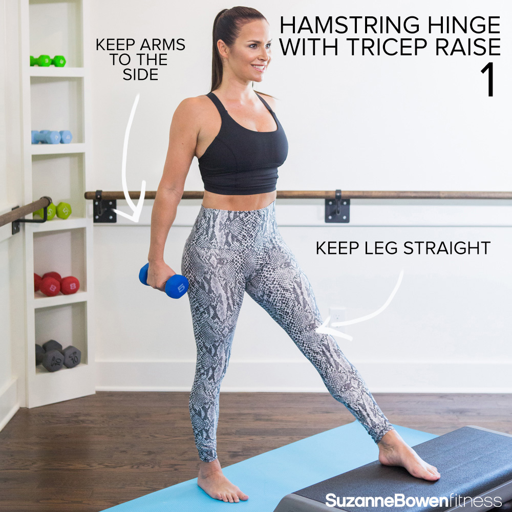 hamstring-hinge-with-tricep-raise
